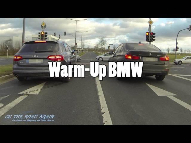 Audi A4 3.0TDI quattro vs BMW 335d xDrive (F30) - YouTube