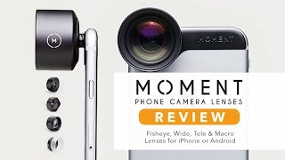 Moment Lenses REVIEW! - Next Level Mobile Photography