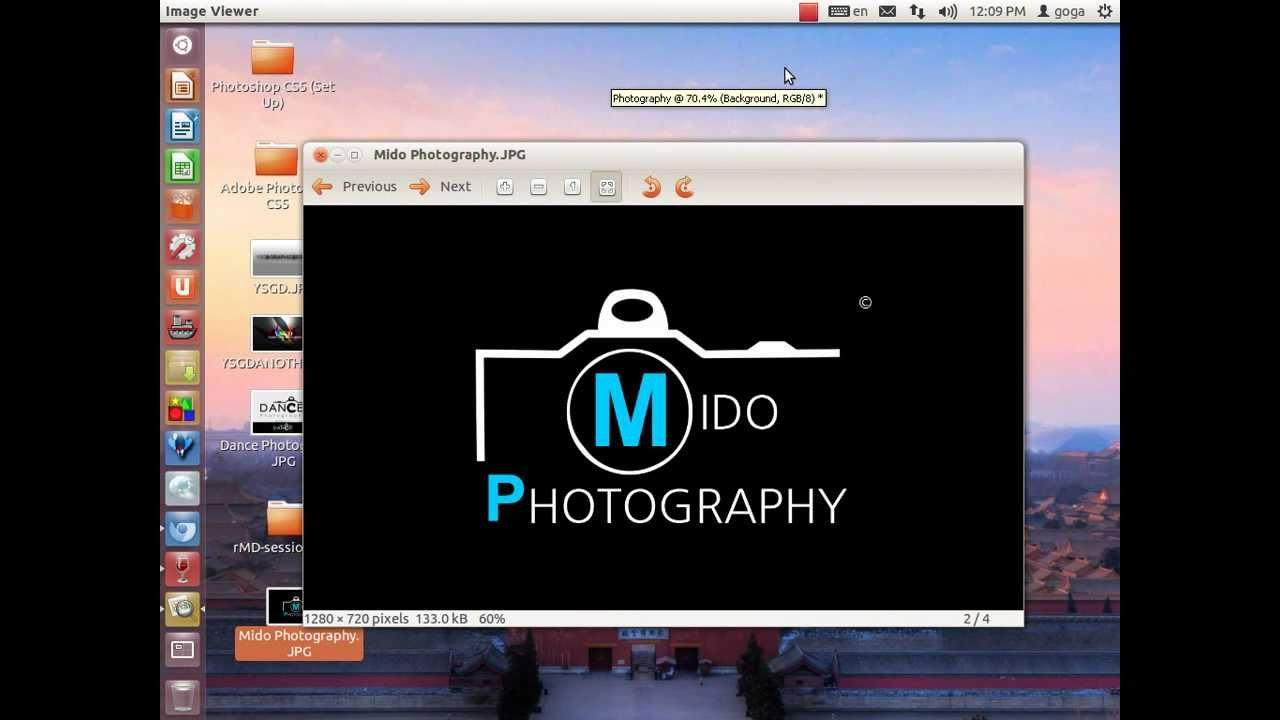 Photoshop CS5 Tutorial | How To Create Your Own Logo For