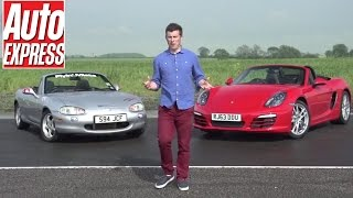 Building a modified Mazda MX-5/ Miata to beat a new Porsche Boxster (Pt 1)