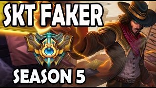 SKT T1 Faker Twisted Fate vs Viktor MID Ranked Challenger Korea