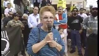 1992 Anaheim City Hall Protest and Meeting with Mayor Tom Daley and Councilman Irv Pickler