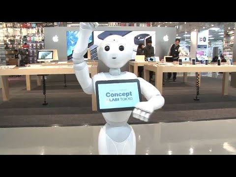 "More Japanese Stores Employ ""Pepper"", First Robot with Emotions"