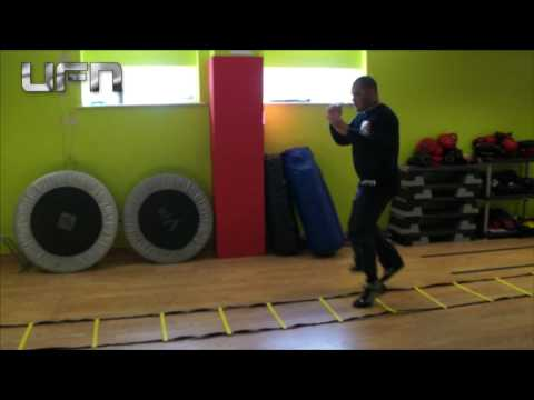 Fast Feet Ladder Drills For Mma, Boxing And Others Sports By UFN