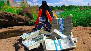 River Treasure: $1000 Dollar Challenge!!! (High Stakes) | Jiggin' With Jordan