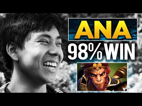 OG.ana TI8 Champ - UNREAL 98.08% WINRATE on Monkey King - Learned by Topson?