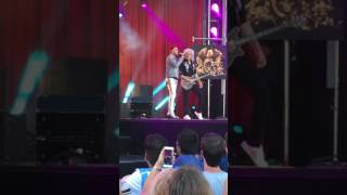 Adam Lambert Two Fux At Jimmy Kimmel Live