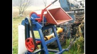 Rozdrabniacz Rębak do drewna gałęzi - Wood Chipper 2012 własnej produkcji samoróbka