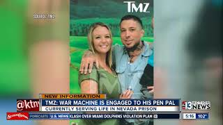 War Machine finds love, gets engaged while serving life in prison
