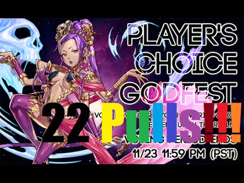 puzzle and dragons players choice godfest 2015