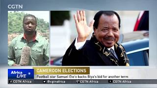 Cameroon's President cancels trip to Anglophone region amid tensions