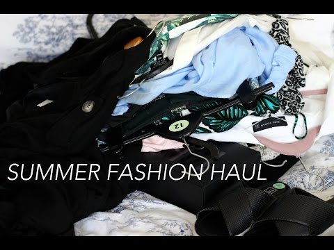 Summer Fashion Haul - Topshop, zara, asos | What I Call Beautiful