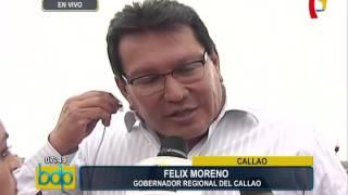Callao: Félix Moreno se pronuncia sobre presuntas irregularidades en obra de Gambetta