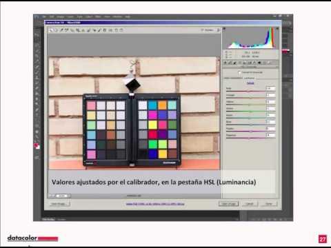 Webinario Datacolor: Manejo de color contraste y nitidez desde la toma fotográfica
