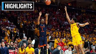 Highlights: Terrapins Edge Fighting Illini | Illinois at Maryland | Dec. 7, 2019