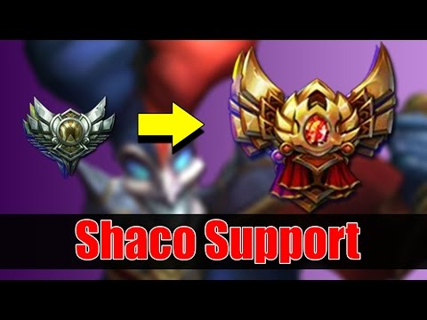 Shaco Support Guide & How to get out of Silver to Gold