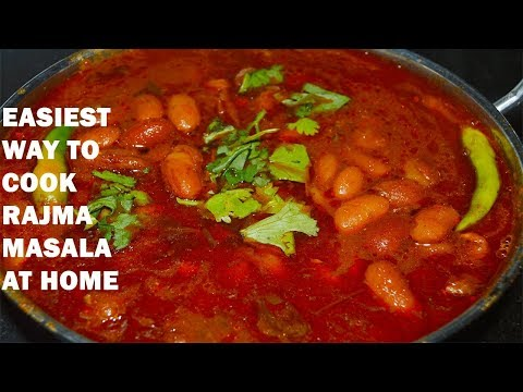 Easiest way to make Rajma Masala at Home-Punjabi Style Rajma Curry Recipe-Harjeet Ki Rasoi