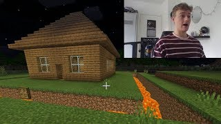 Building my First Minecraft House