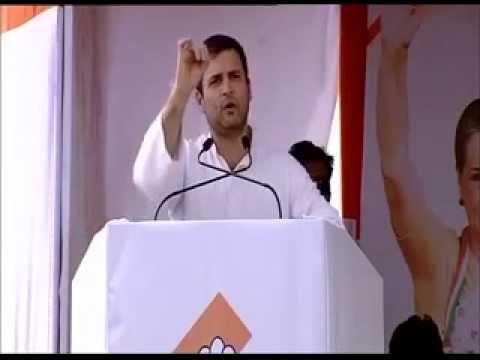 Rahul Gandhi addresses election rally in Maharashtra
