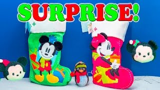MICKEY MOUSE Worlds Biggest Surprise Stockings Mickey + Minnie Mouse + Paw Patrol Surprise Egg Vide