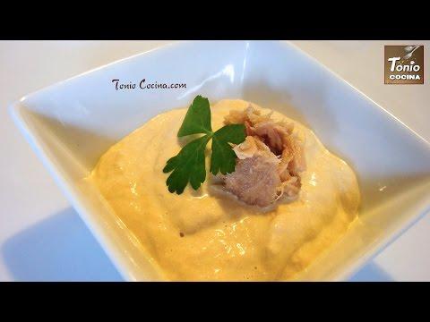 Salsa cremosa de atún, #153 - Cocina en video.com