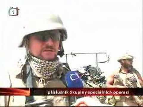 SOG in Afghanistan, Helmand - reportage from Czech TV
