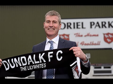 Stephen Kenny's First Dundalk FC Interview