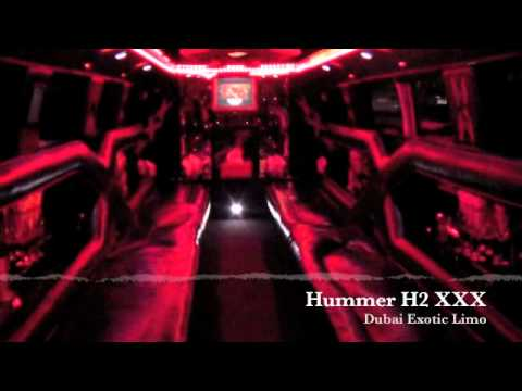 Hummer H2 Xxx - Dubai Exotic Limo video