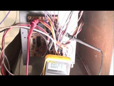 Troubleshoot the gas furnace fan