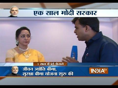 Mathura Rally: BJP MP Hema Malini speaks to India TV on Modi visit