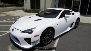 2012 Lexus LFA Nürburgring Edition Start Up, Exhaust, and In Depth Review