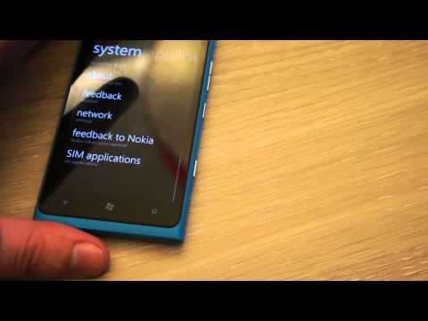 WP 7.8 update for Lumia 900 - quick preview