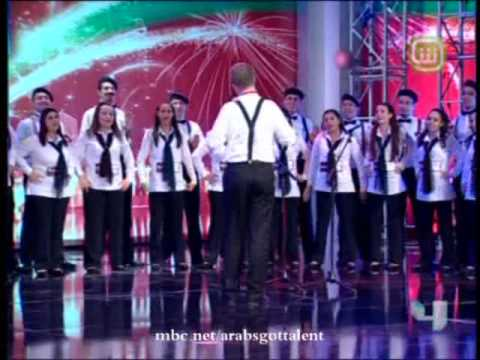 Arabs Got Talent – للعرب مواهب – Ep 6 – Fayha Choir