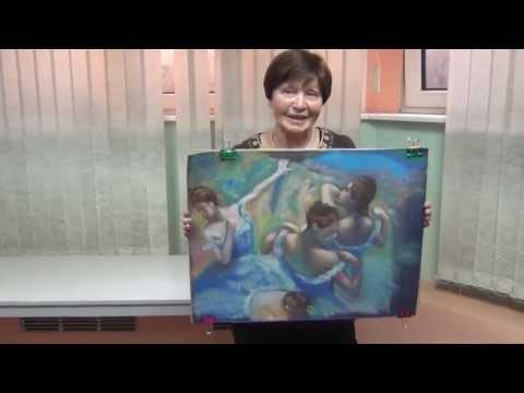 Мастер класс пастелью видео
