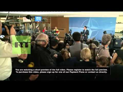 Belgium: Russian military build-up will not de-escalate Ukraine situation - NATO's Rasmussen