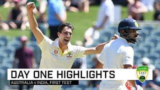 Cummins, Khawaja lead Aussie charge | First Domain Test