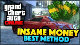 GTA 5 Online UNLIMITED MONEY FAST - BEST MONEY METHOD!
