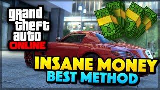 GTA 5 Online UNLIMITED MONEY FAST - BEST MONEY METHOD!