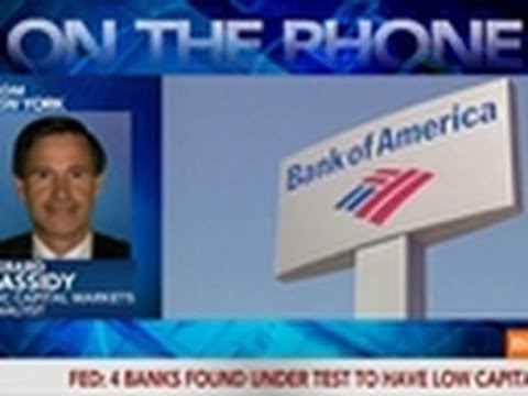 Cassidy Says U.S. Banking Industry Is Strong