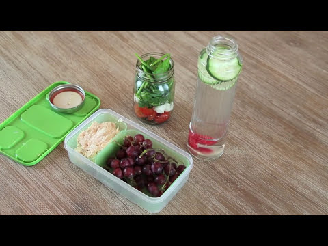 HEALTHY LUNCHES FOR SCHOOL OR WORK! | Blair Fowler