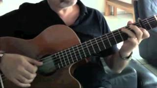 "Sarabande by Händel "" On Acoustic Guitar """