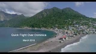 Dominica march 2018 - 6 months after hurricane Maria