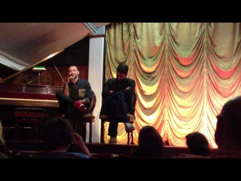 WARNING SPOILERS The Cabin In The Woods Q&A: Drew Goddard & Jesse Williams Pt 1