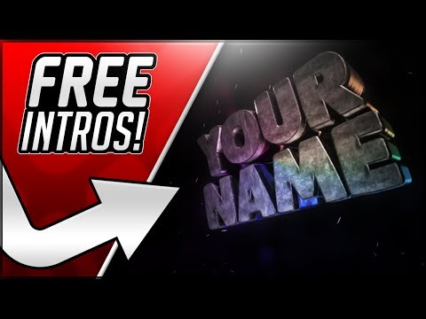 How To Make An Intro For Your YouTube Videos For FREE! 2017 Intro Maker Tutorial