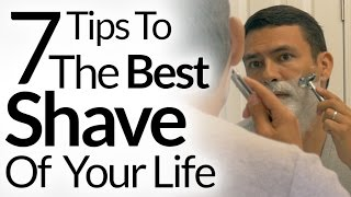 7 Steps To Best Shave of Your Life | Barbershop Quality Shave At Home | Shaving Tutorial OneBlade
