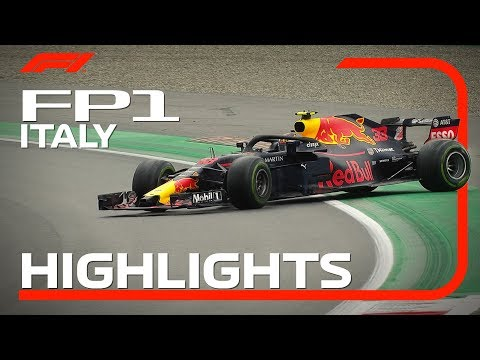 2018 Italian Grand Prix | FP1 Highlights