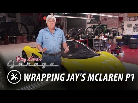 Wrapping Jay's McLaren P1 - Jay Leno's Garage