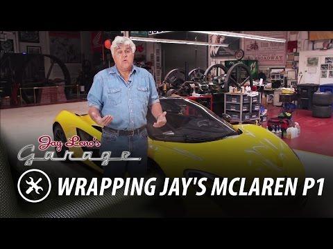 Wrapping Jay's McLaren P1 - Jay Leno's Garage