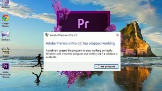 Adobe Premiere Pro CC Startup Problem in Windows 10 Fix