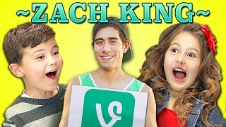 KIDS REACT TO ZACH KING VINES